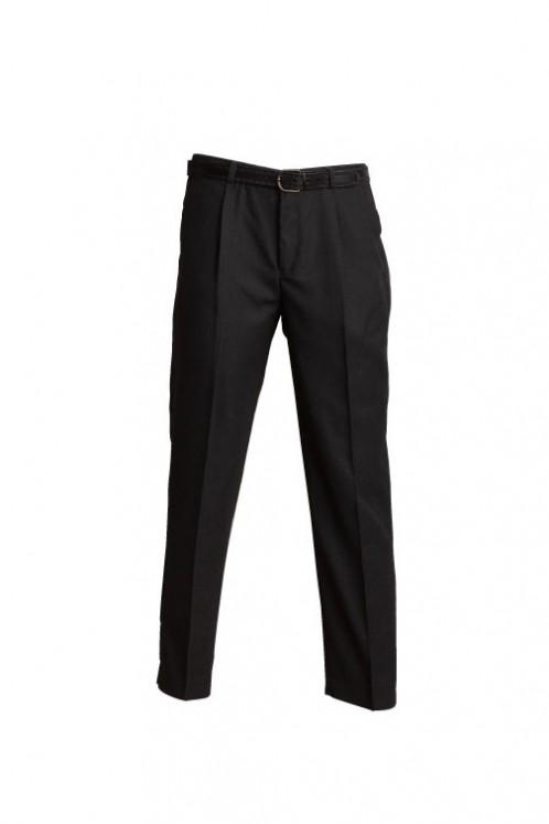 Black Extra Sturdy Elasticated School Trousers (7040B)