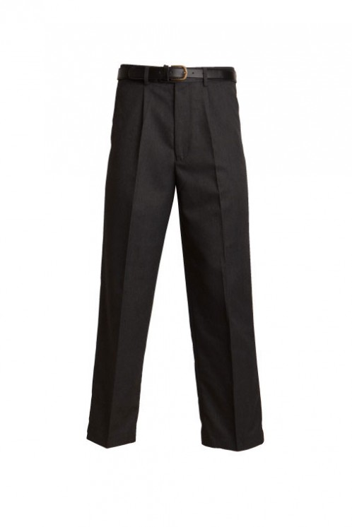 Senior Regular Fit Charcoal School Trousers (7042C)
