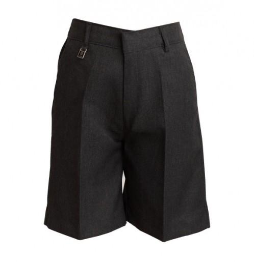 Grey Sturdy Fit School Shorts (7302GREY)
