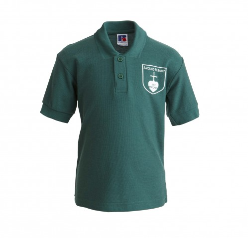 Sacred Heart Primary School Polo Shirt with School Logo (8681)