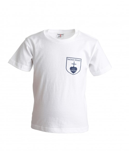 Sacred Heart Primary School P.E. T-Shirt with School Logo (8682)