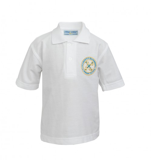 St Andrew's Polo Shirt with School Logo (8822)