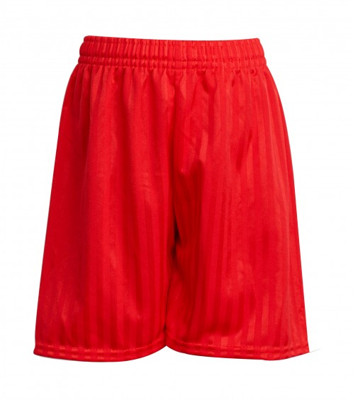 Red Shadow Stripe Football Shorts (7210RED)