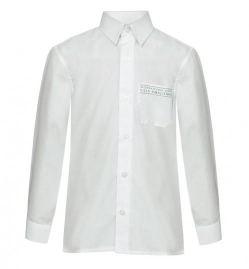 ISVA White Long Sleeve Shirts - Twin Pack (8562)