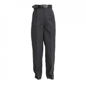 "Boys Regular Fit Grey School Trousers to 29"" Waist (7041G)"