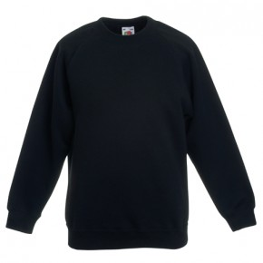 YGGIC Round Neck Sweatshirt with School Logo (8782)