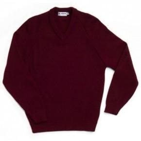 Acrylic V-Neck Pullover (7140)