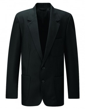 Boys Black School Blazer (7170-BLK)