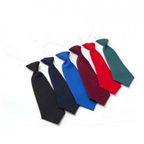 School Tie on Elastic (7220)