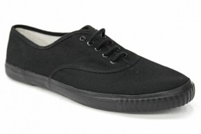 Lace Up School Plimsolls (7230)