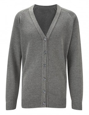 50/50 Girls V-Neck Cardigan (7426AA)