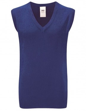 50/50 V-Neck Sleeveless Slipover (7427)