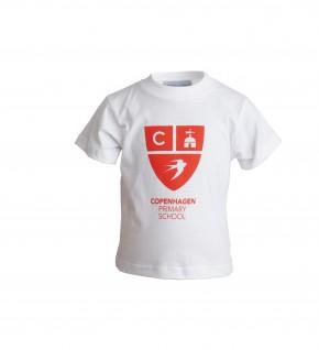 Copenhagen White P.E. T-Shirt (8606)
