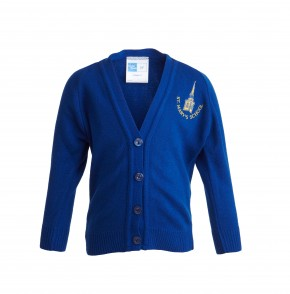 St Mary's Church of England Primary School Knitted Cardigan (8622)