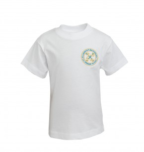 St Andrew's P.E. T-Shirt with School Logo (8828)