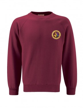 Rotherfield Primary School Sweatshirt with School Logo (8870)