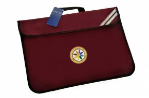 Rotherfield Book Bag with School Logo (8873)