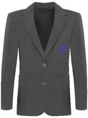 Beacon High Girls School Blazer with School Logo (8132)