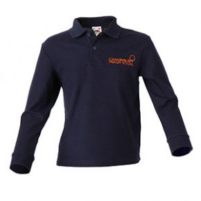Canonbury Primary Compulsory L/S Polo Shirt (C8421)