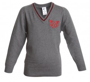 City of London Academy V-Neck Pullover (CLB 8173)