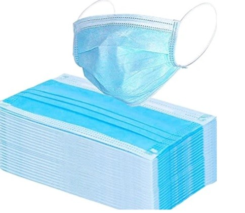 Disposal Face Mask - 3 Ply (Box of 50)