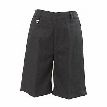 Grey Pull Up School Shorts (7303GREY)