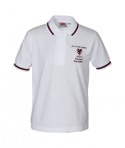 City of London Academy P.E. Polo T-Shirt (CL8176)
