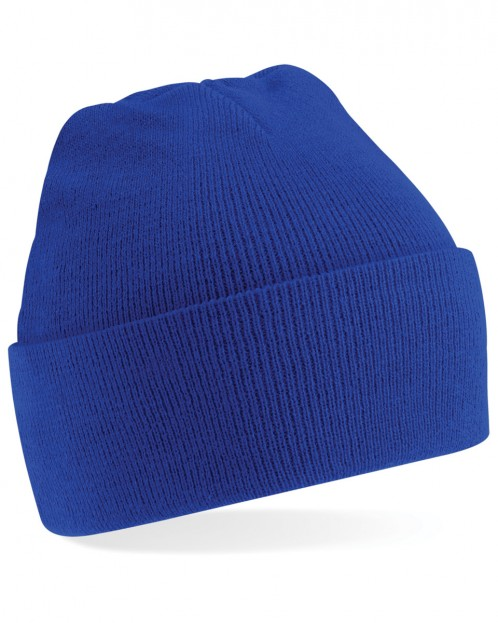 Highbury Quadrant Knitted Hat with School Logo (8759)