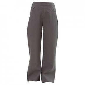 Grey Girls Trousers with Zipped Pockets (7060-GREY)