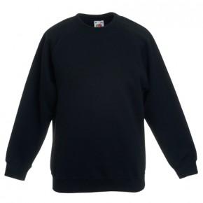 Winton Primary School Black Sweatshirt with Printed Logo - Yr 6 (9051)
