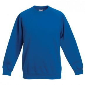 Round Neck Sweatshirt by 'Fruit of the Loom' (7094)