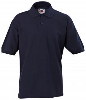 Short Sleeve Polo T-Shirt by 'Fruit of the Loom' (7095)