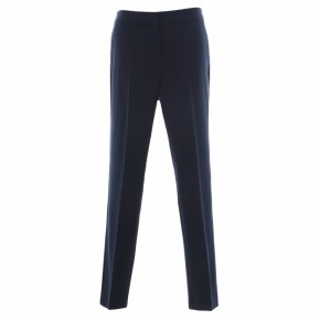 Girls Navy Trimley Slimfit School Trousers (7451NVY)