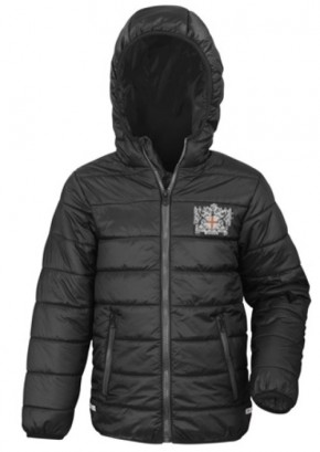 City of London Academy Highbury Grove Outdoor Puffer Jacket with Logo (8115)
