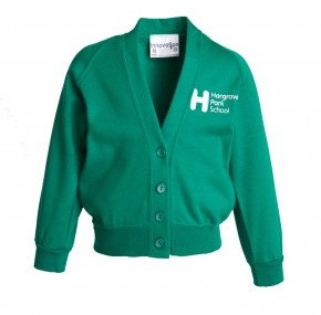 Hargrave Park Primary School Sweat Cardigan (8711)