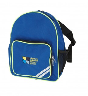Highbury Quadrant Infant Backpack (Yrs 1, 2 and 3) (8756)