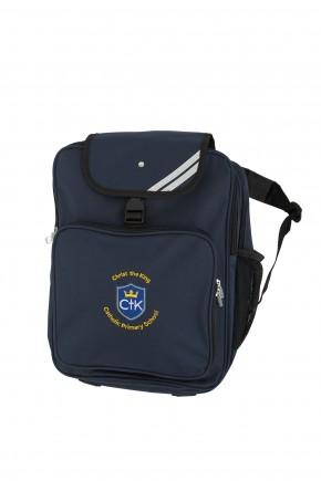 CTK Junior Backpack with School Logo (8797)