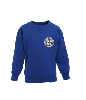 St Andrew's Sweatshirt with School Logo (8820)