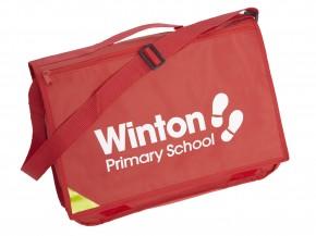 Winton Primary Despatch Bag with School Logo (9058)