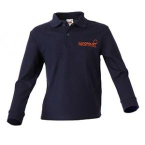 Canonbury Primary Compulsory L/S Polo Shirt (C8421)