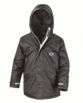 City of London Academy Highgate Hill Winter Parka by Result (HH8109)