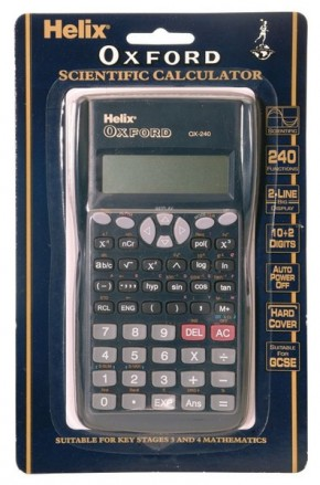 Oxford Scientific Calculator (RC2072)