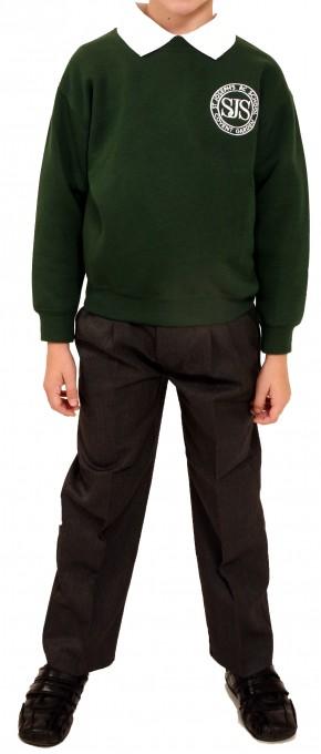 St Joseph's Round Neck Sweatshirt (SJB8140)