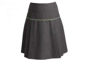 """Skinners Academy Girls Skirt - 2"""" Longer Length (SKA8289)"""