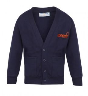 Canonbury Primary Girls Sweatshirt Cardigan (C8426)